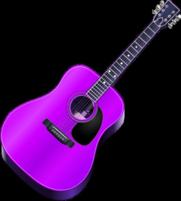 600x666 Guitar Vector Clip Art
