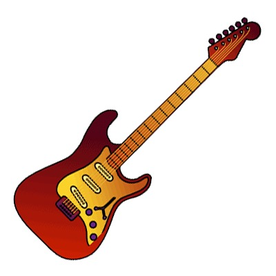 400x400 Guitar Pictures Clip Art