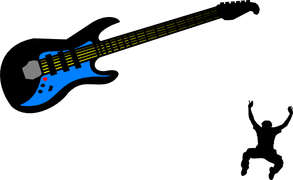 600x369 Electric Guitar Clip Art