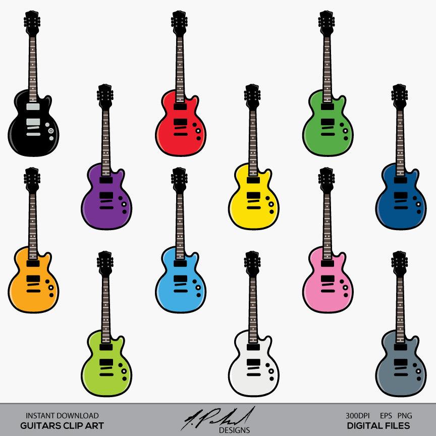 864x864 Guitar Clip Art