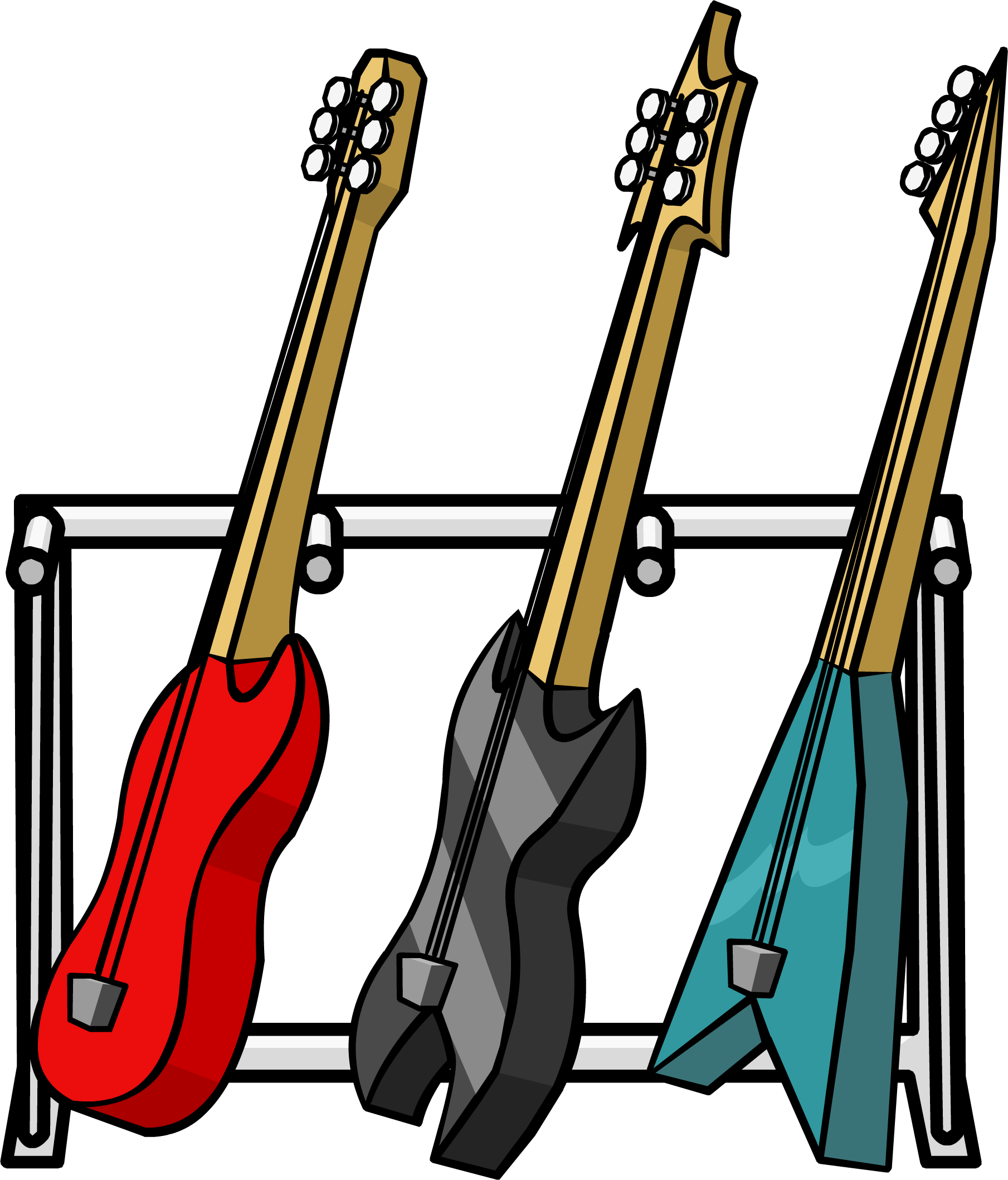 1809x2117 Guitar Clipart Stand