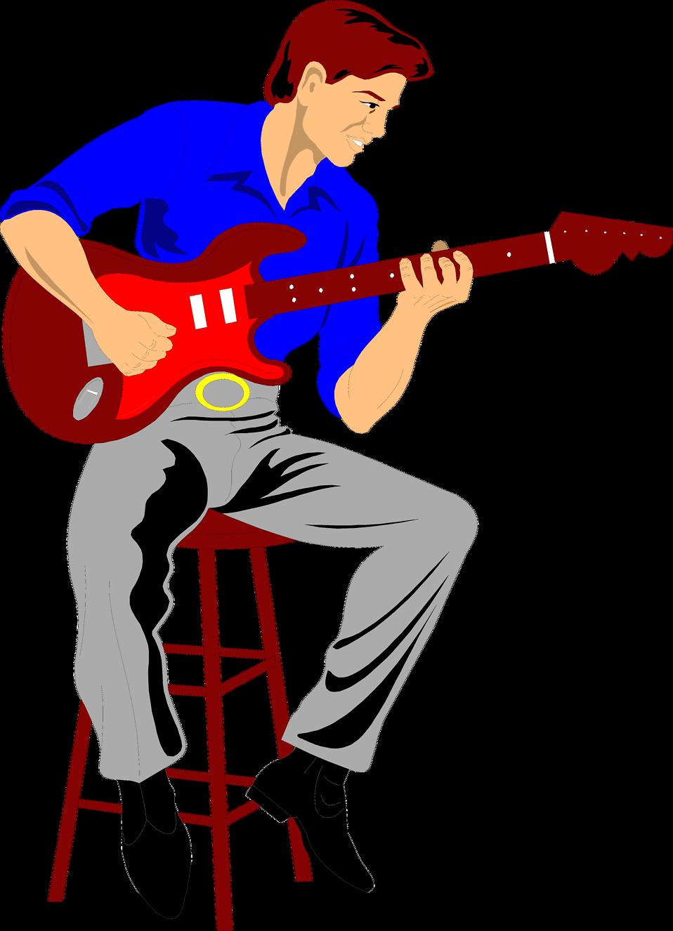 958x1326 Playing Guitar Clip Art