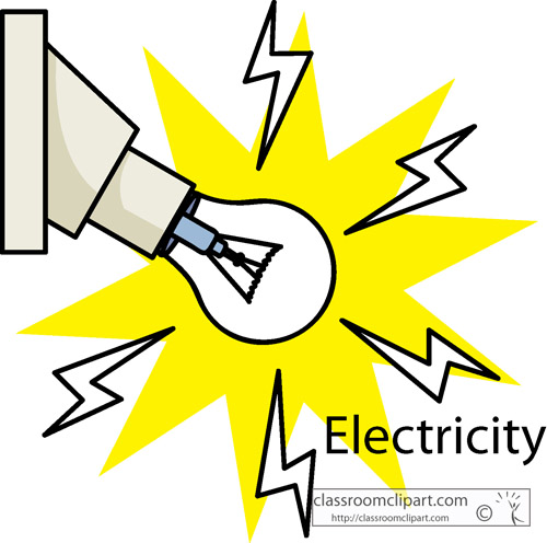 500x496 Electricity Clipart Simple