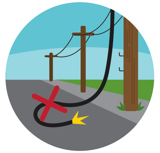 526x503 Power Line Clipart Electric Wire