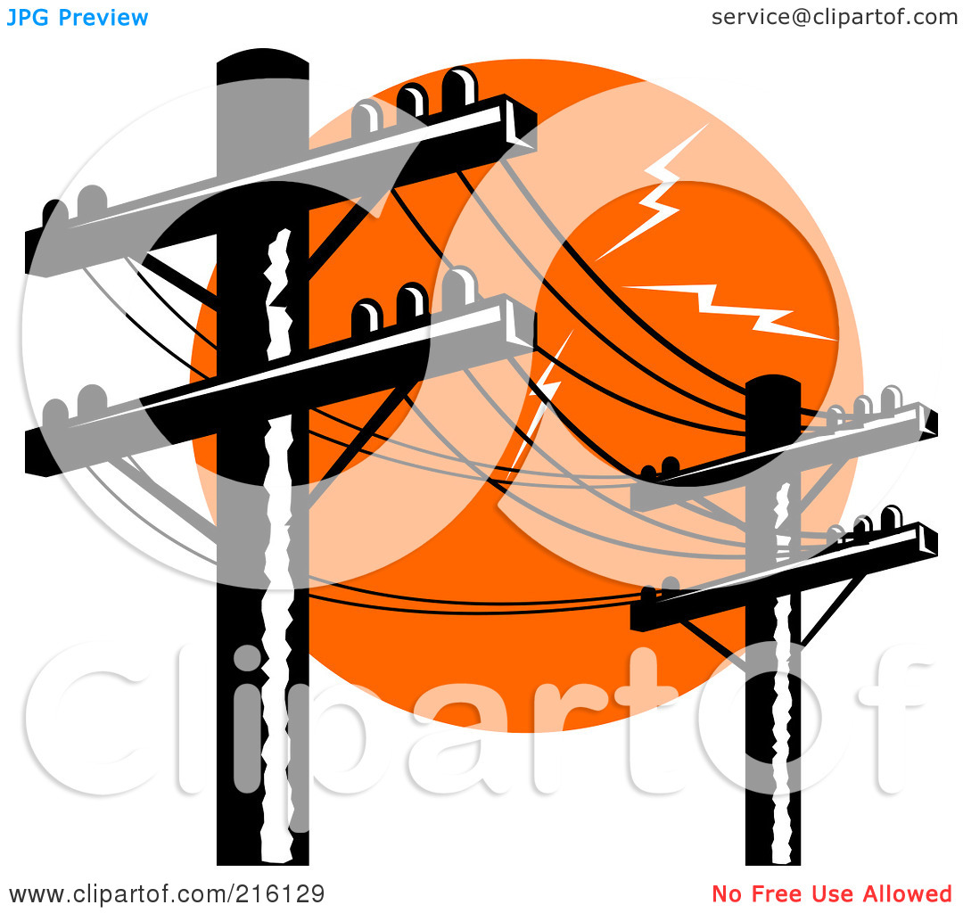 1080x1024 Power Line Clipart Electricity Pole