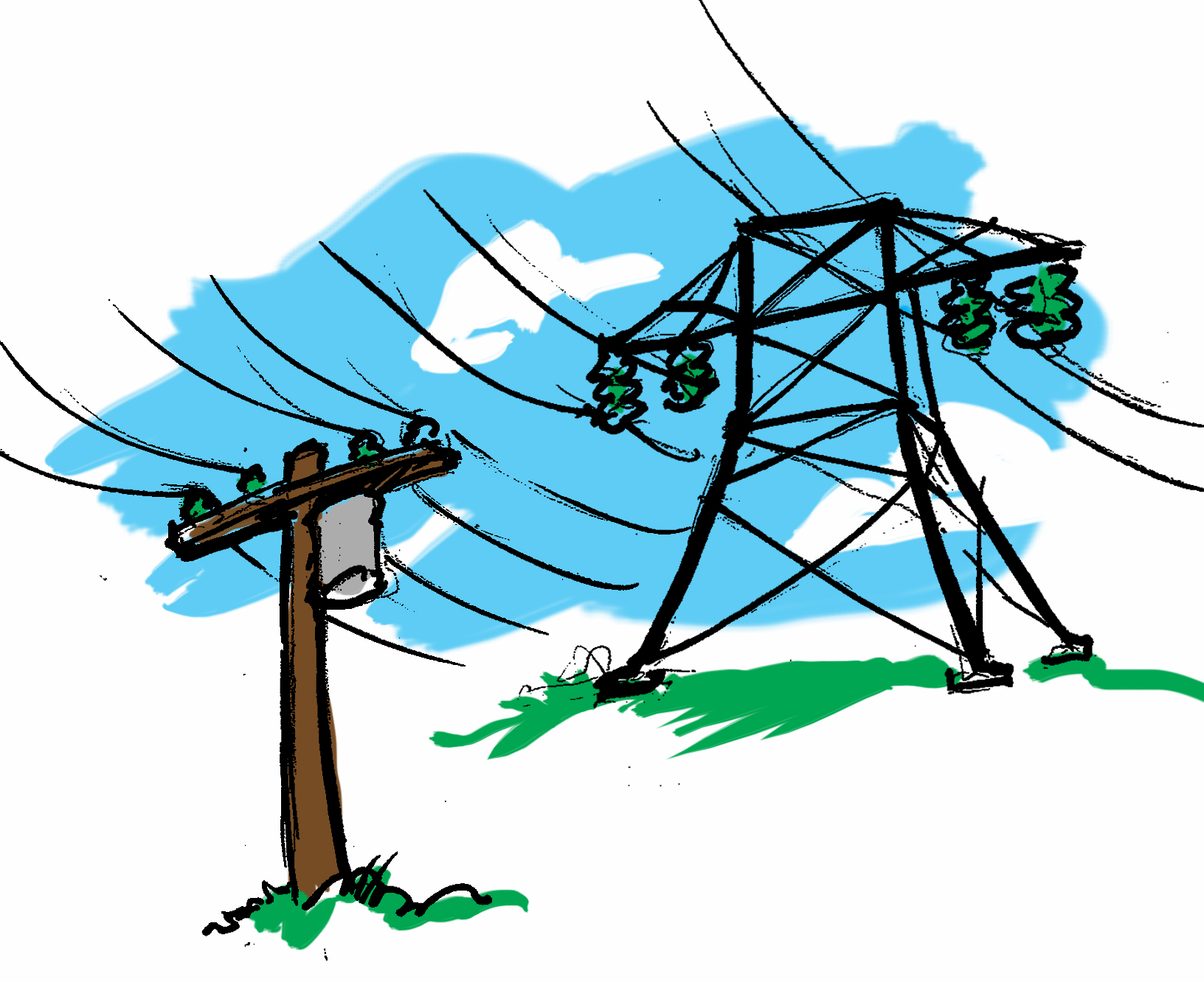 1632x1332 Power Line Clipart Power Grid