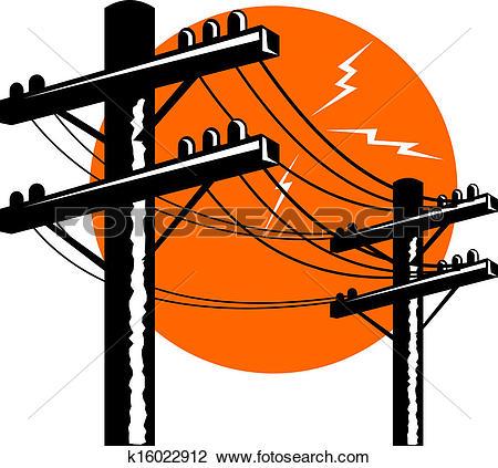 450x423 Power Line Clipart
