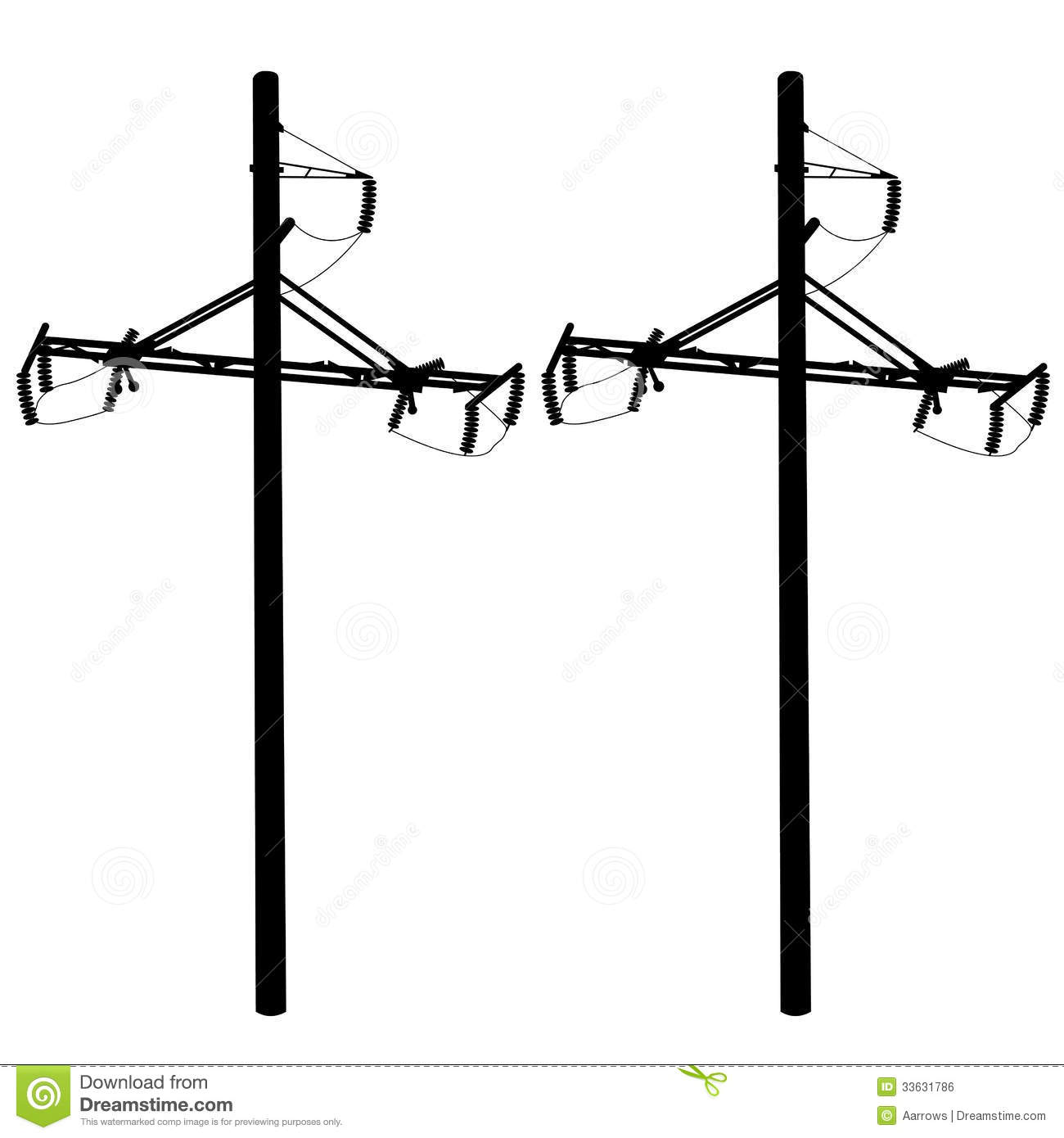 1300x1390 Electric Power Lines Clipart