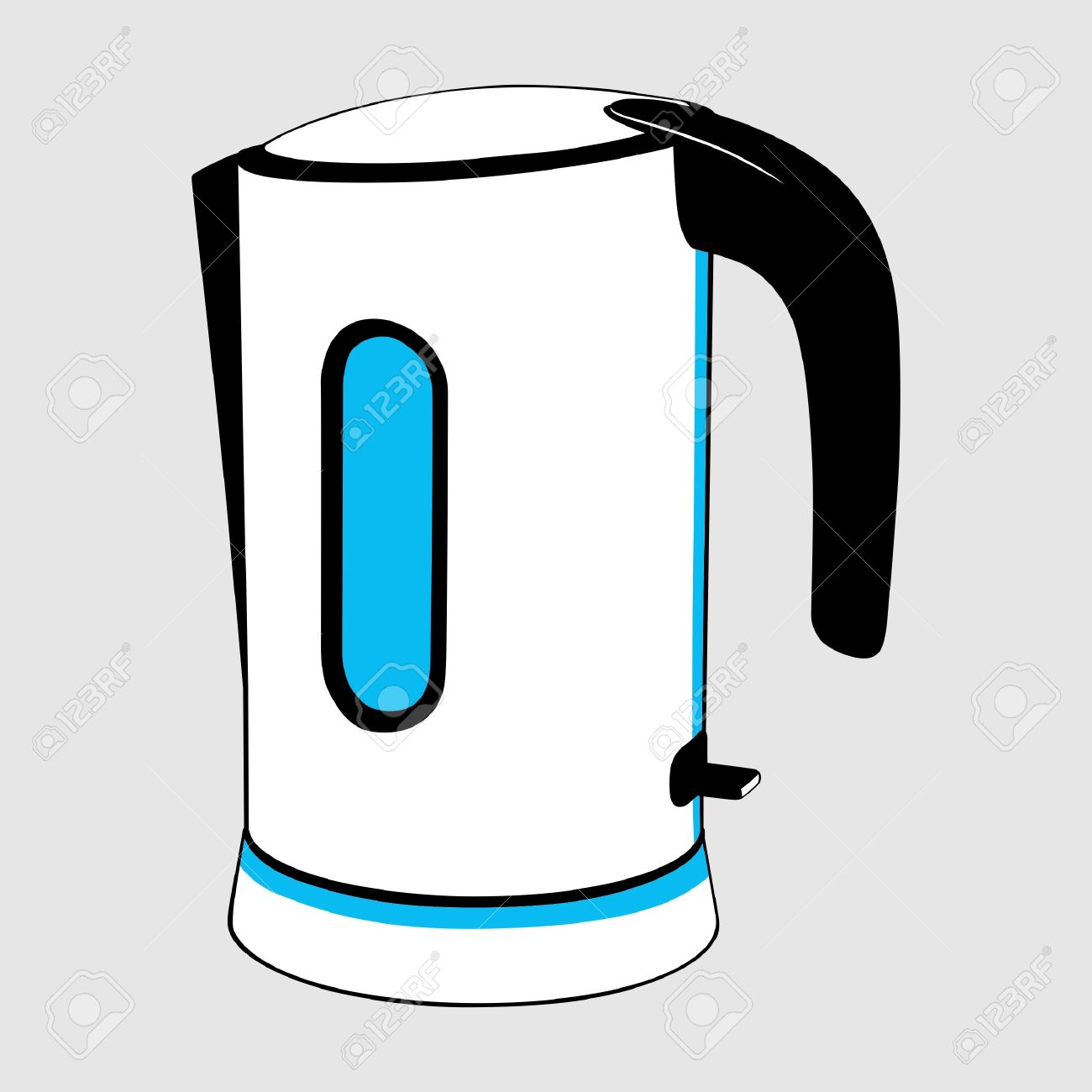 1300x1300 Steam Clipart Electric Kettle
