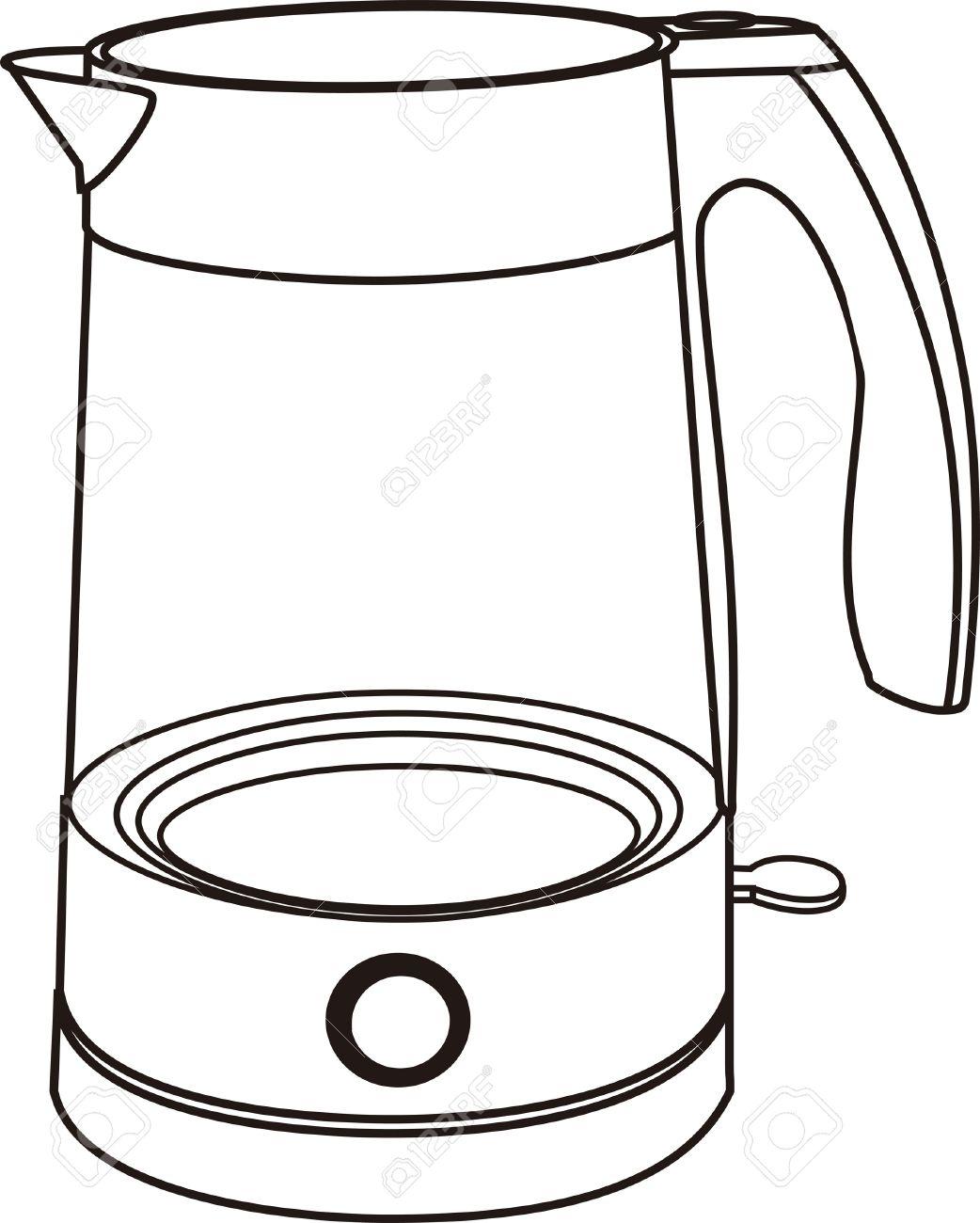 1042x1300 Teapot Clipart Electric Kettle