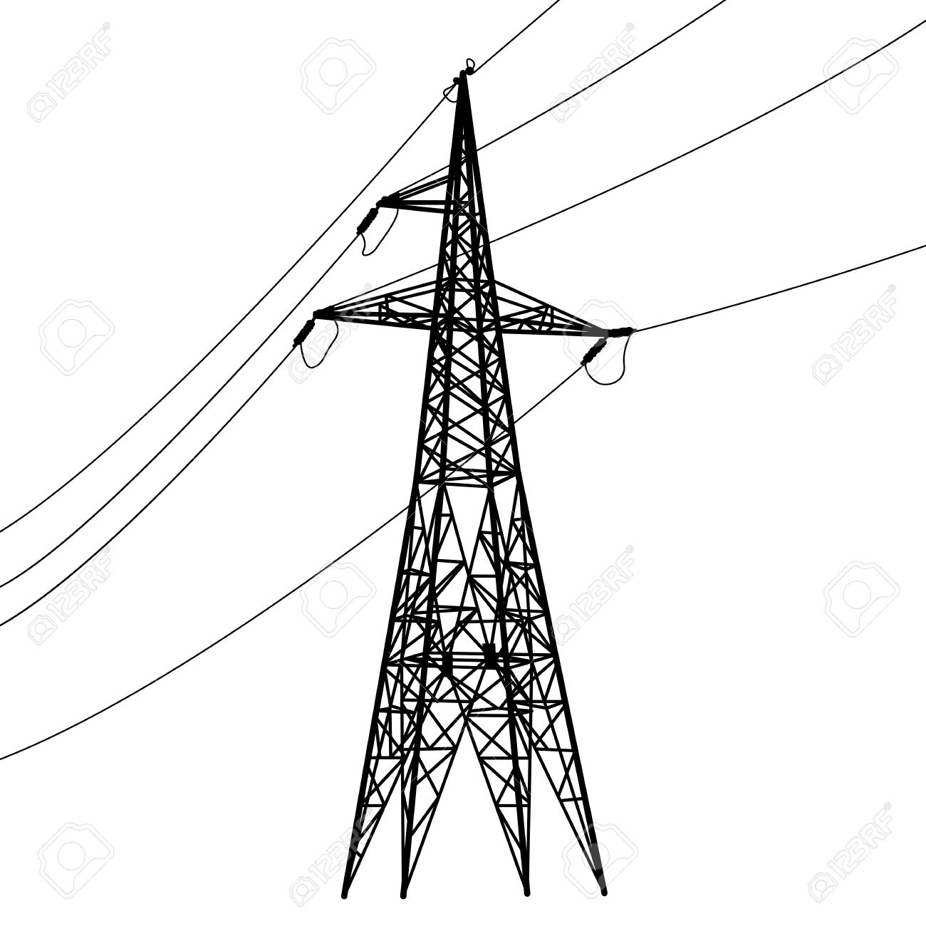 1300x1300 Electrical Clipart Electric Power Line