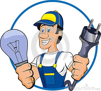 400x359 Electrical Clipart Electrician