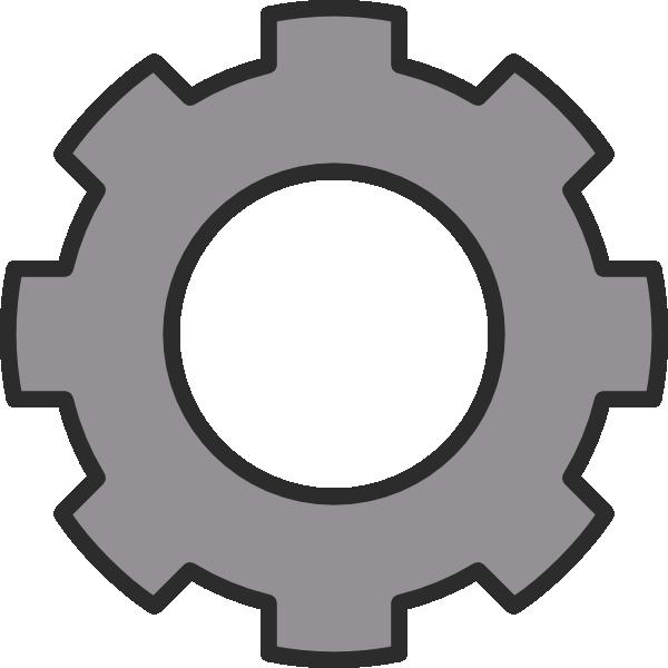 600x600 Gear Clip Art