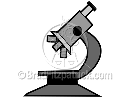 432x324 Cartoon Microscope Clip Art Clipart Panda