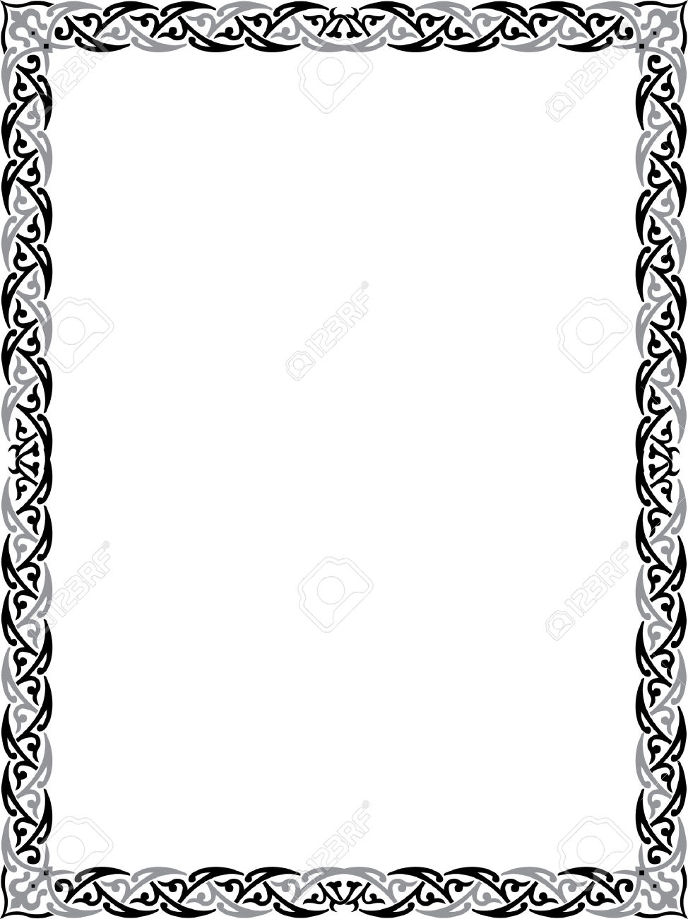 974x1300 Elegance Clipart Border