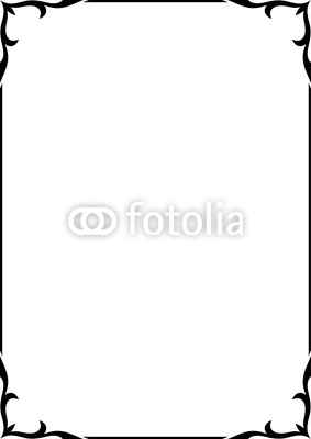 283x400 Elegant Border Frame Clipart Panda