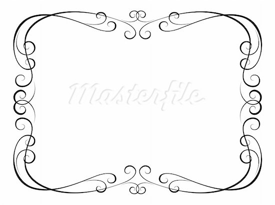 550x411 Elegant Page Borders Clipart Collection