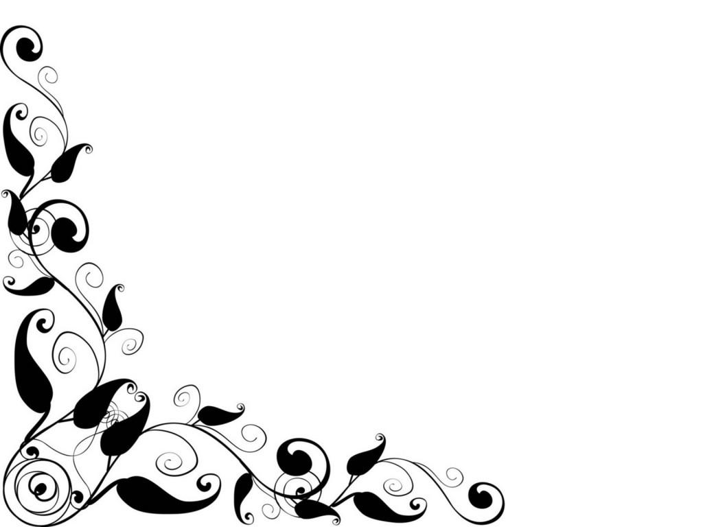 1024x768 Free Elegant Template Border Clipart Panda