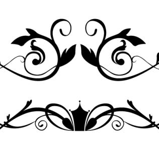 Elegant Borders Clipart