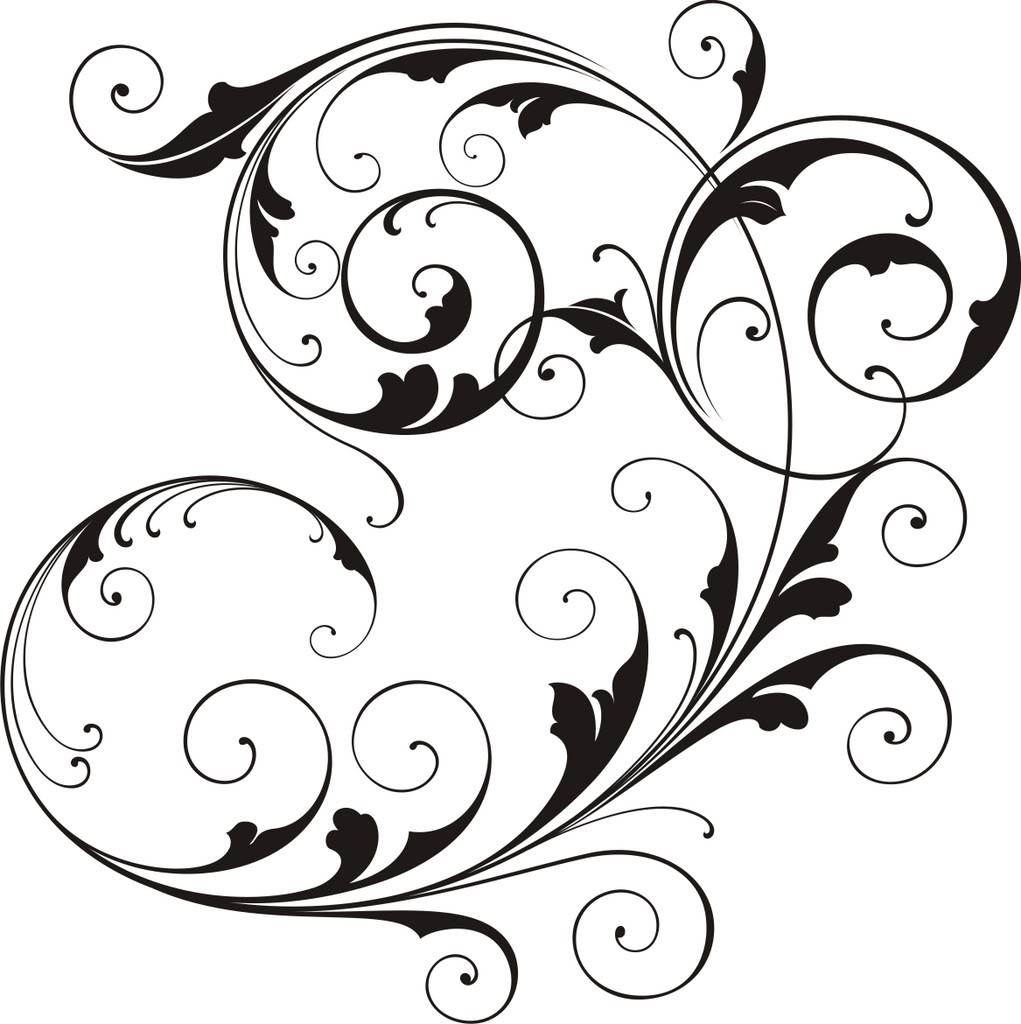 1021x1024 Elegant Wedding Border Clipart