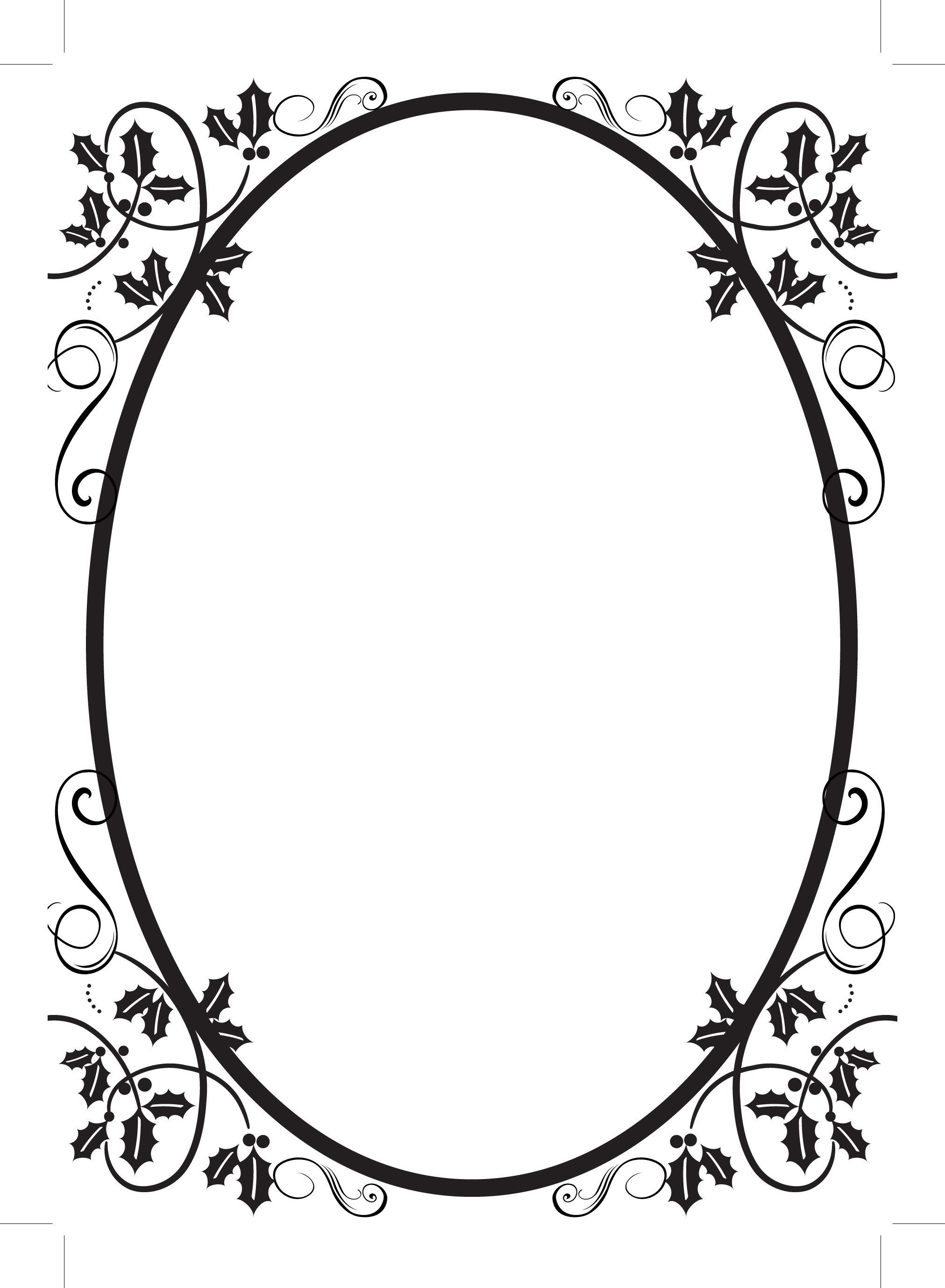 2023x2755 Free Flourish Clip Art Borders Random Search