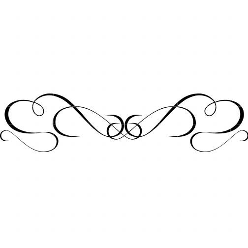 504x504 Black Swirls Clipart