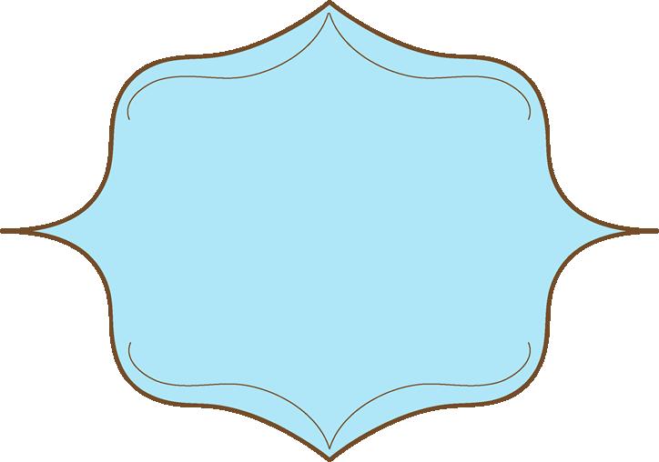 724x508 Brown And Blue Elegant Frame
