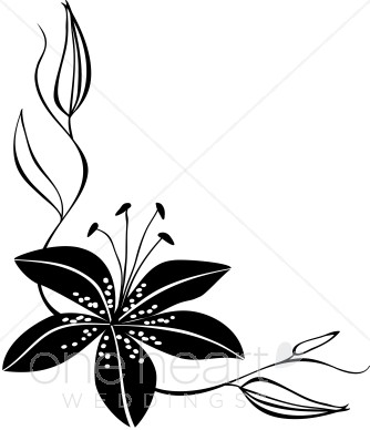 334x388 Clipart Lily Flower Clipart