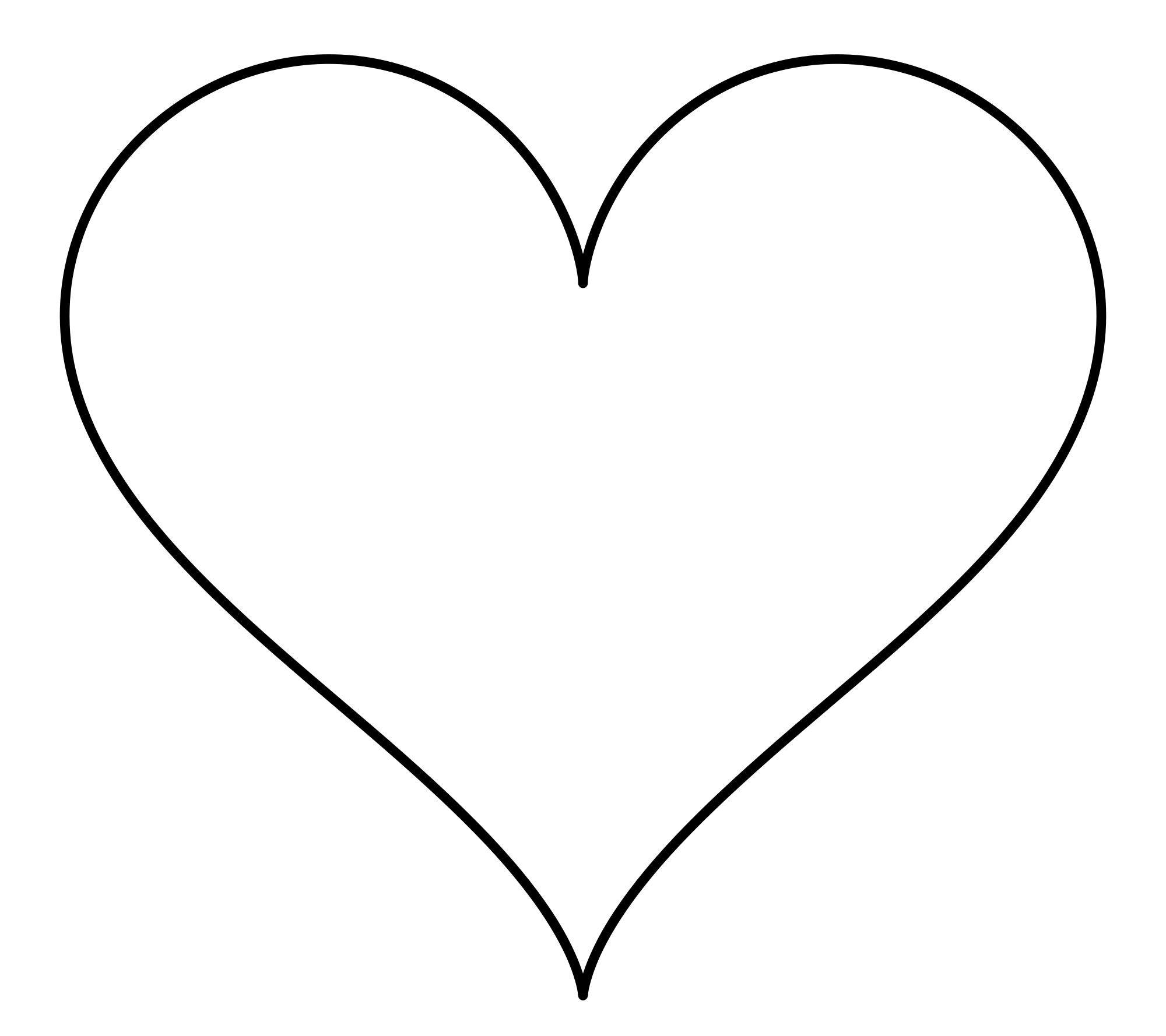 Elegant Heart Clipart
