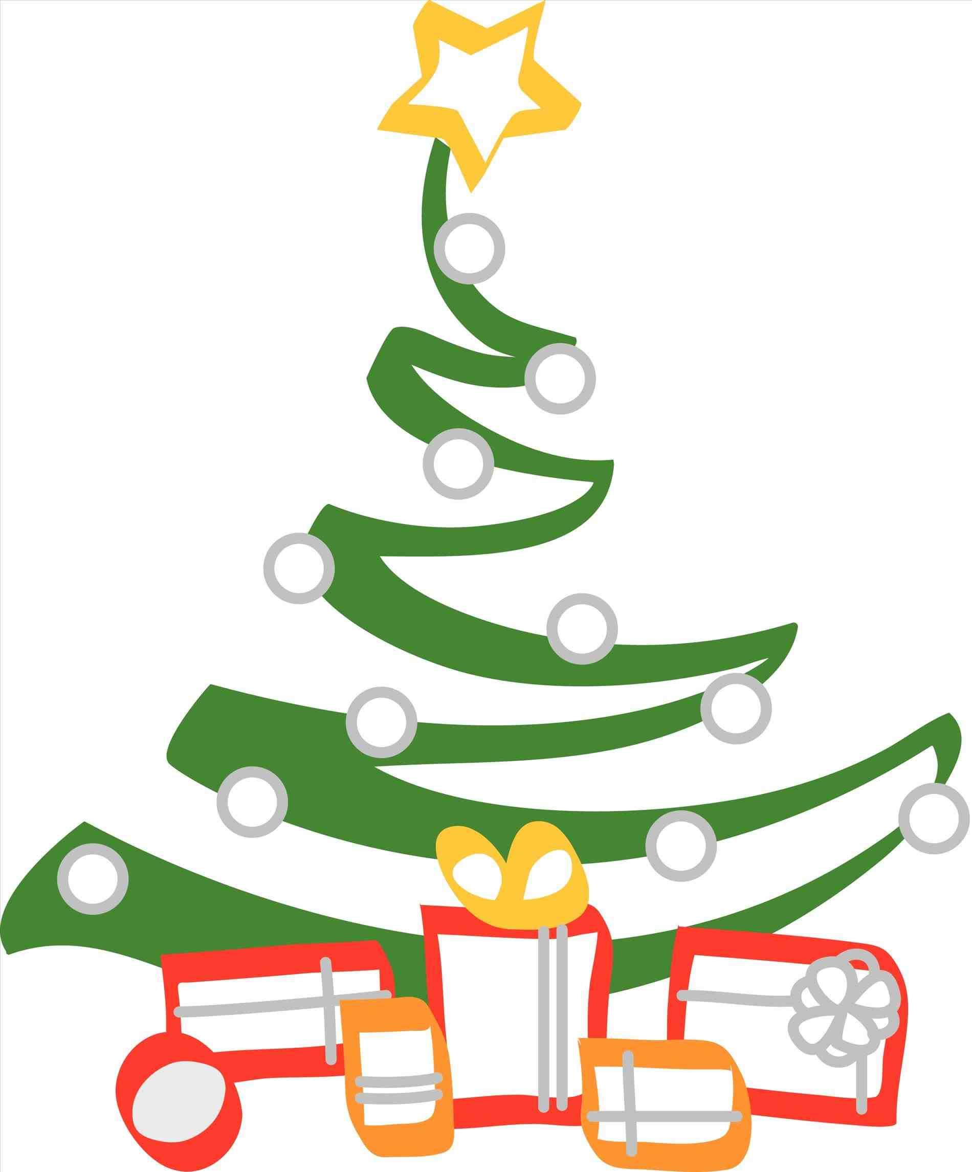 1900x2291 Classy Christmas Tree Clip Art Cheminee.website