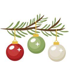 236x236 Elegant Christmas Bough Clipart
