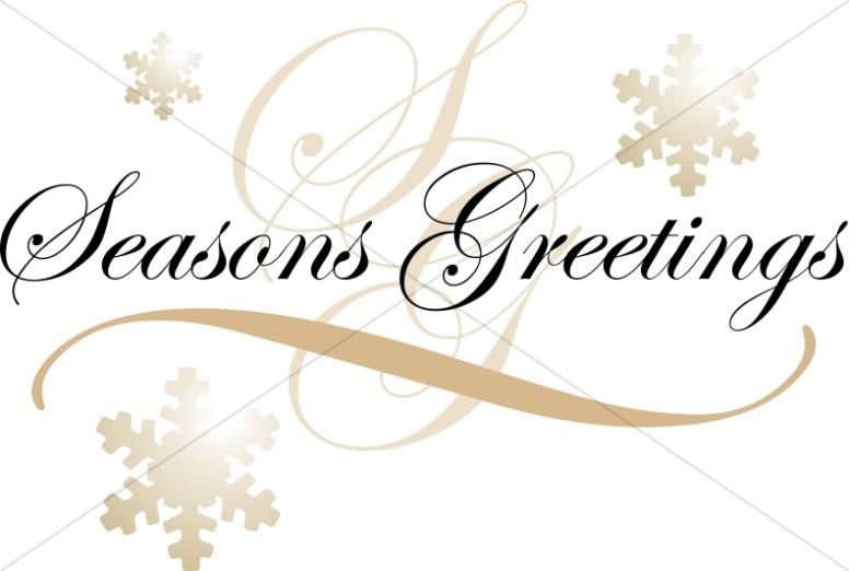 776x522 Season Greetings Clipart