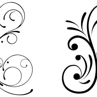 340x340 Elegant Swirl Vectors Download Free Vector Art Amp Graphics