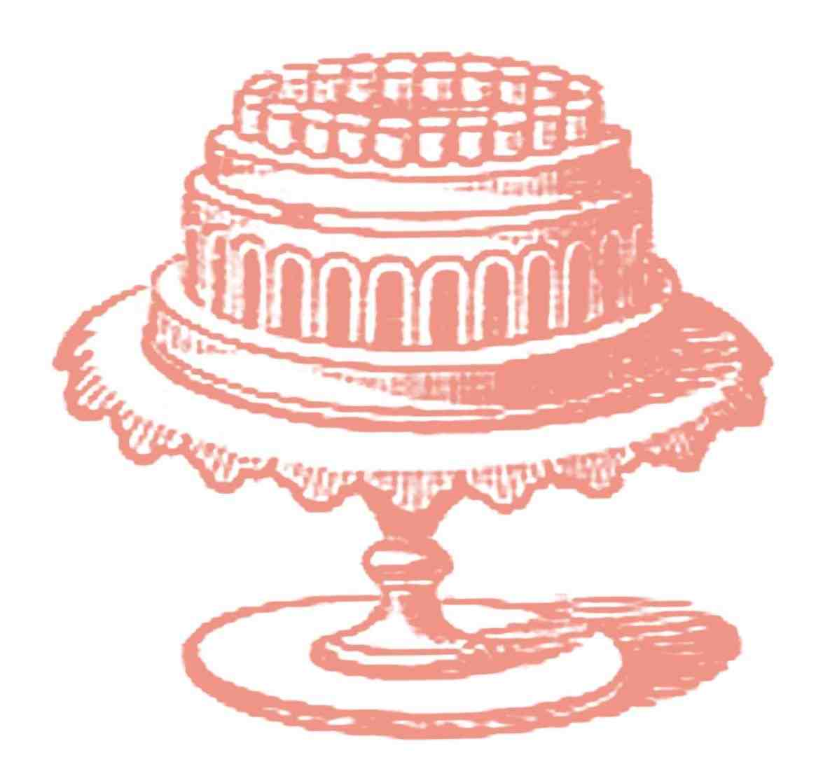 1185x1108 Elegant Wedding Cake Clip Art