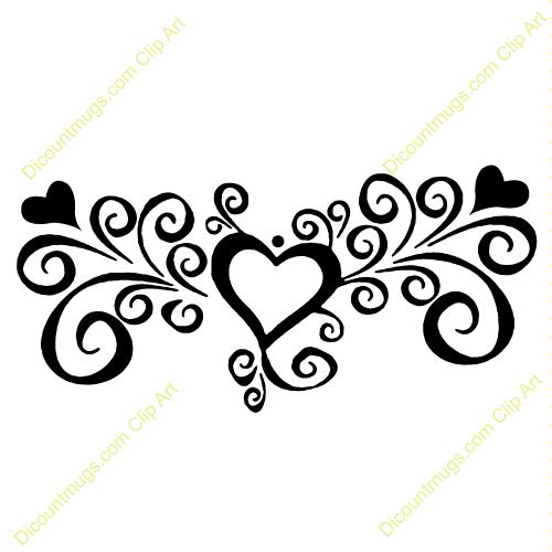 500x500 Free Wedding Clipart Swirls