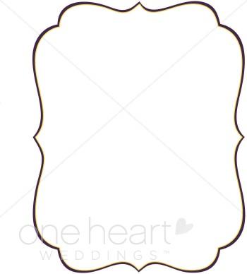 350x388 Bridal Border Clip Art