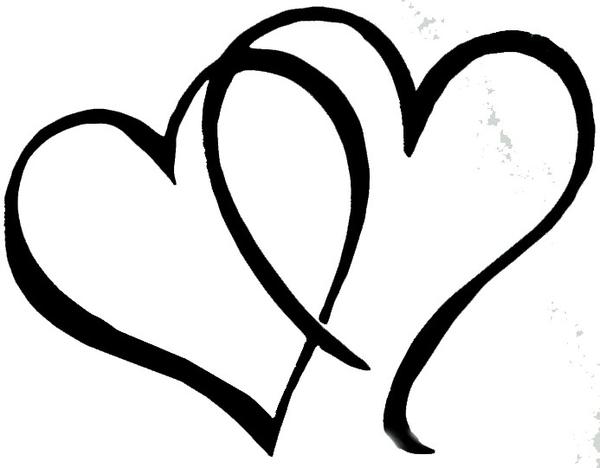 600x468 Wedding Clipart Heart Border