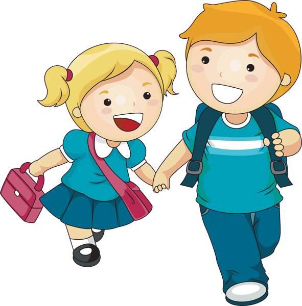 591x600 Elementary Kids Clip Art