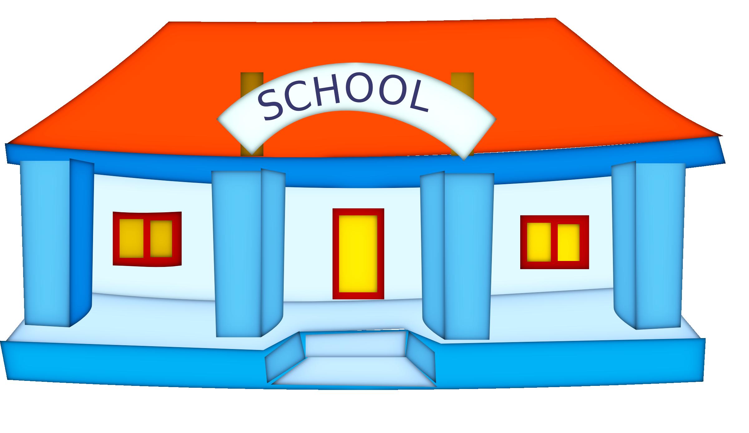 2400x1387 High Resolution School Clipart