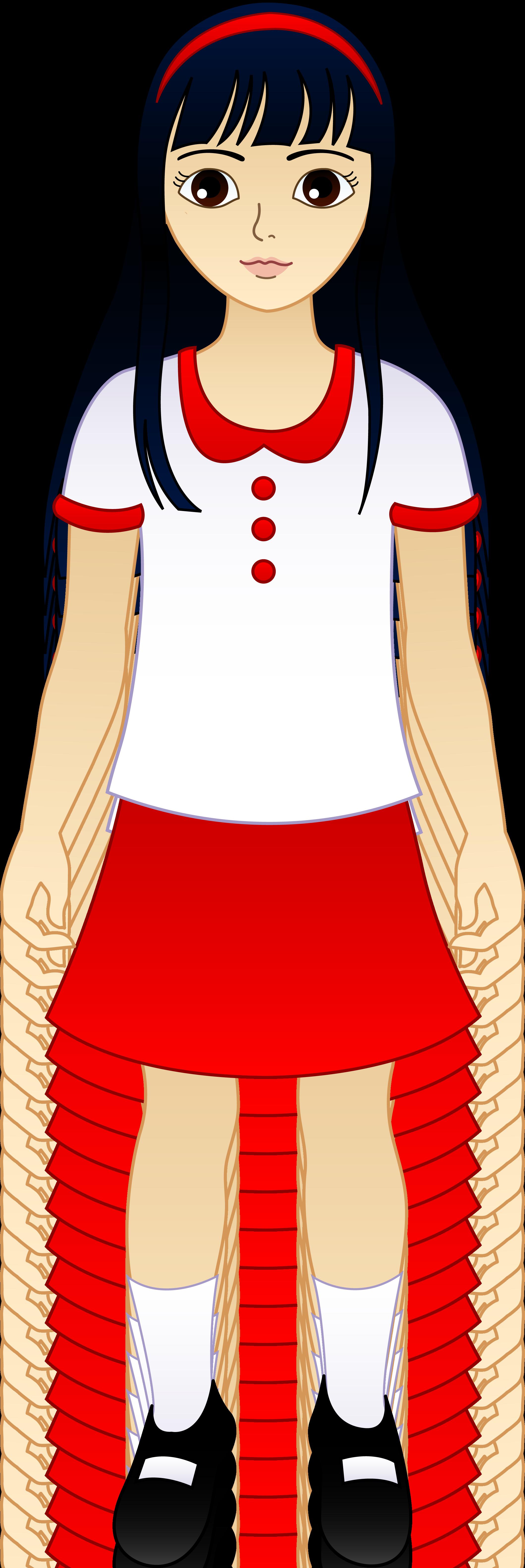 2119x6330 Uniform Clipart Elementary School