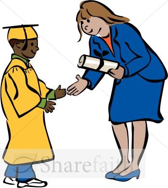 347x388 Elementary School Graduation Clip Art