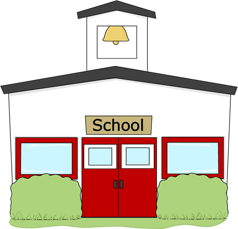 467x450 Elementary School Building Clipart (41+)