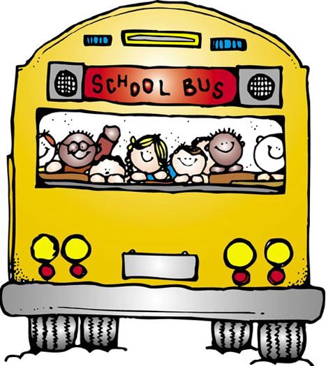 467x524 Elementary school bus clipart