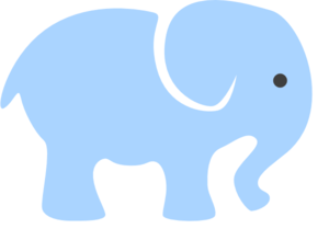 300x219 Mommy And Baby Elephant Clipart