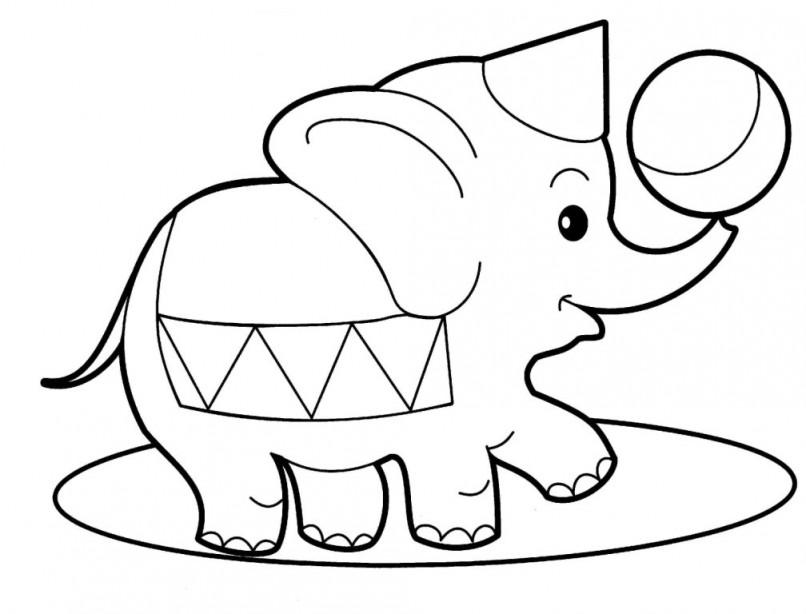 806x614 Elephant Line Art Free Download Clip Art Free Clip Art