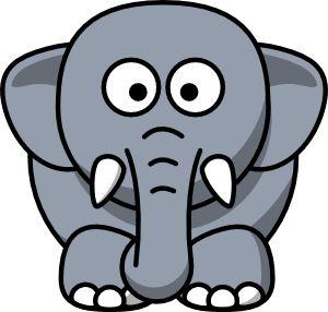 300x286 Best Elephant Cartoon Images Ideas Cartoon