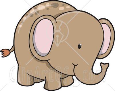 400x316 The Best Cartoon Elephant Drawing Ideas Easy