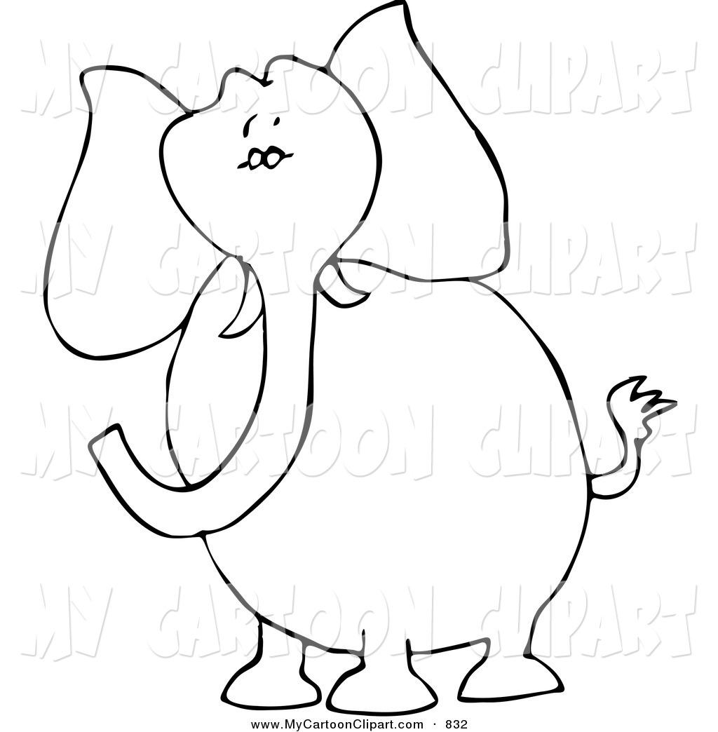 1024x1044 Royalty Free Stock Cartoon Designs Of Elephants