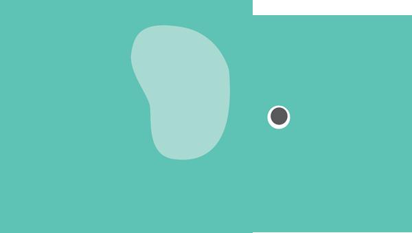 600x339 Elephant Clipart Teal