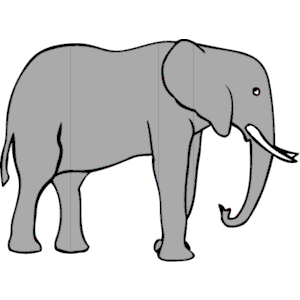 300x300 Elephant Free Clipart Clipart